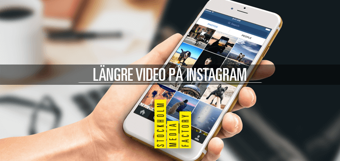 Instagram lanserar 60sek video